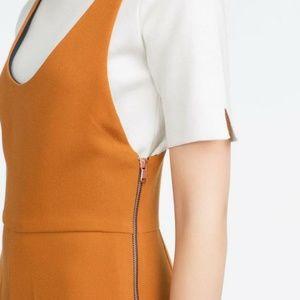 Zara cropped jumpsuits